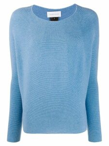 Christian Wijnants long-sleeve fitted jumper - Blue
