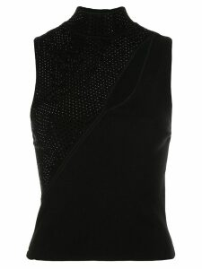 Alice+Olivia Abbi knit top - Black