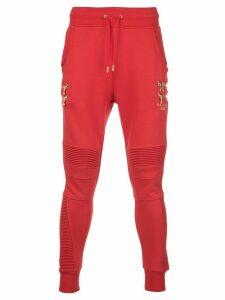 Puma x Balmain biker track pants - Red