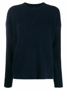 Christian Wijnants Kia ribbed knit jumper - Blue