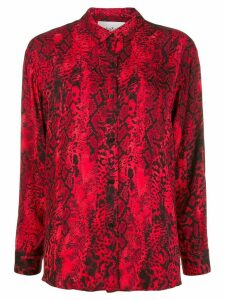 Ba & Sh Susi snakeprint shirt - Red