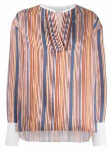 Victoria Victoria Beckham striped blouse - Blue