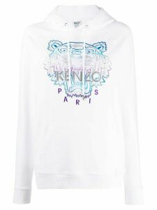 Kenzo Holiday Capsule tiger hoodie - White