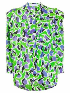 Christian Wijnants Tabea abstract floral-print shirt - Green