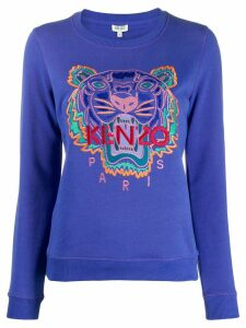 Kenzo Holiday Capsule tiger sweatshirt - Blue