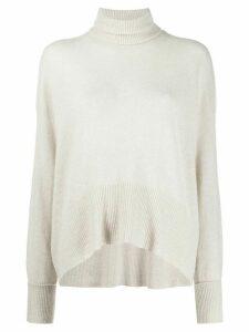 Maison Flaneur roll-neck sweater - NEUTRALS
