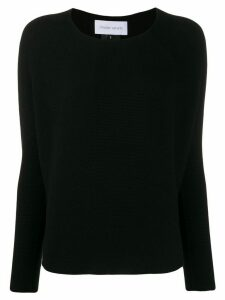 Christian Wijnants long-sleeve fitted sweater - Black