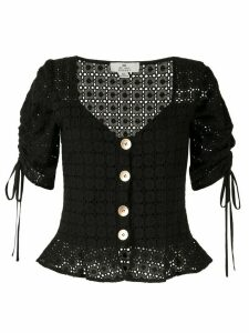 We Are Kindred Vienna crochet blouse - Black