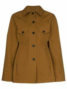LVIR cinched-in jacket - Brown