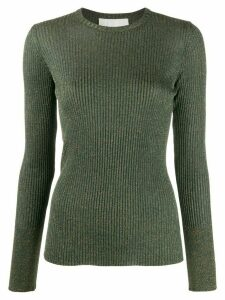 8pm long-sleeve fitted top - Green