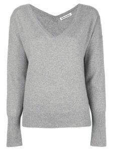 Reformation Sadie V-neck jumper - Grey