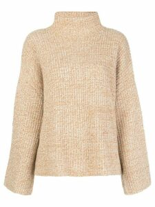 Reformation Fern funnel-neck jumper - NEUTRALS