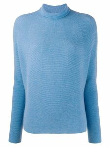 Christian Wijnants roll-neck fitted jumper - Blue