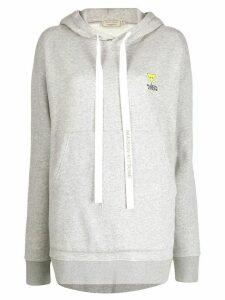 Maison Kitsuné oversized hoodie - Grey