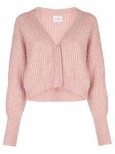 Le Kasha Monaco cashmere loose-fit cardigan - PINK