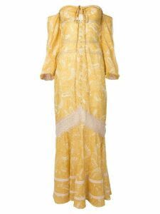 We Are Kindred Sorrento maxi dress - Yellow