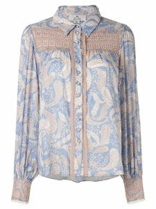We Are Kindred Sorrento paisley blouse - Blue