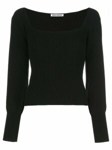 Reformation Isabel knitted top - Black