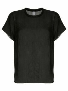 Sir. Indre silk T-shirt - Black