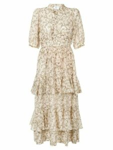 Sir. Annalie tiered maxi dress - NEUTRALS