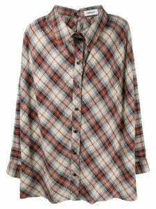 Ambush nobo rear button-up shirt - NEUTRALS