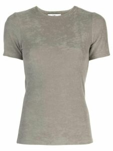 Tibi short-sleeved T-shirt - Grey