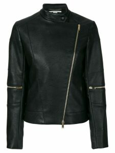 Stella McCartney asymmetric fitted jacket - Black