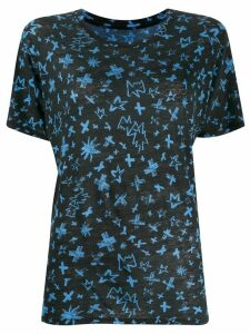 Zadig & Voltaire Aria Cross print T-shirt - Black