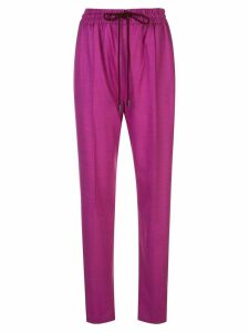 Roksanda tapered drawstring trousers - FUSCHIA