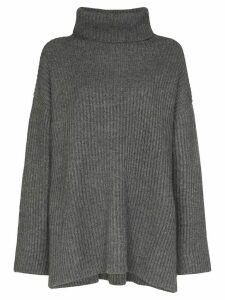 Le Kasha oversized turtleneck cashmere jumper - Grey