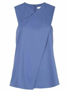 Tibi wrap front top - Blue