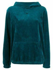Nike corduroy effect hoodie - Green