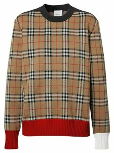 Burberry Vintage check jumper - NEUTRALS