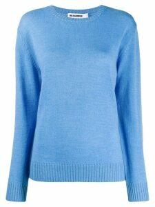 Jil Sander long-sleeve knit jumper - Blue