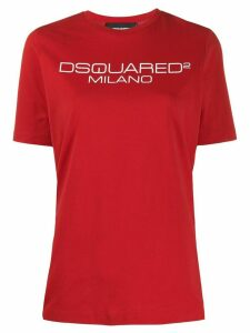 Dsquared2 logo-print crew-neck T-shirt