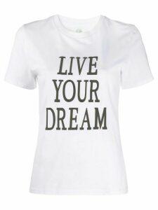 Alberta Ferretti Love Me T-shirt - White