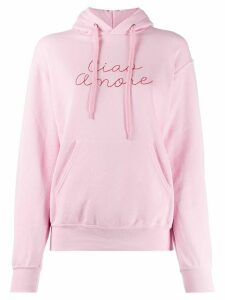 Giada Benincasa Ciao Amore hoodie - PINK
