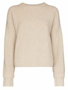 Le Kasha Corse cashmere chunky knit jumper - NEUTRALS