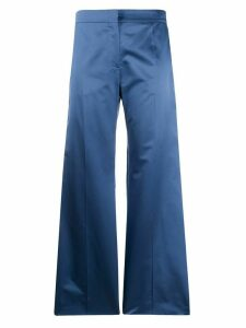 Valentino wide leg tailored trousers - Blue