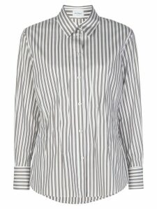 Salvatore Ferragamo striped shirt - White