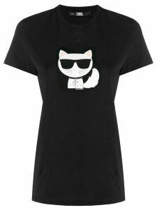 Karl Lagerfeld Ikonik Choupette T-shirt - Black