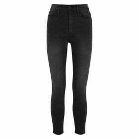 Frame Denim Ali Dark Grey Skinny Jeans