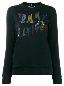 Tommy Hilfiger Roxy crew-neck sweatshirt - Blue