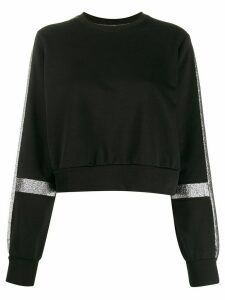No Ka' Oi glitter panel jumper - Black