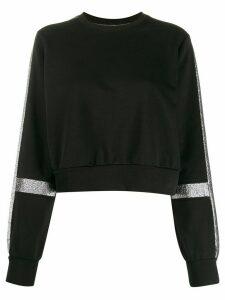 No Ka' Oi glitter panel jumper - Black