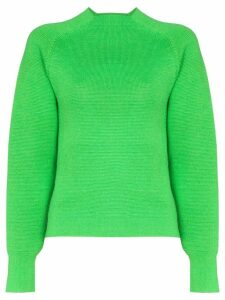 Carcel Milano high-neck jumper - Green