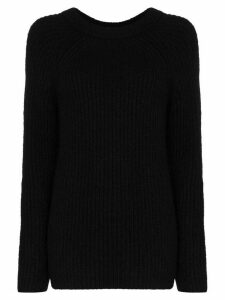 Helmut Lang Ghost ribbed knit jumper - Black