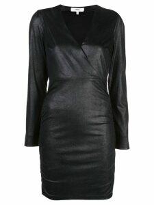 Likely fitted V-neck dress - Black