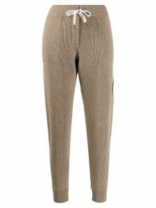 Brunello Cucinelli drawstring waist trousers - NEUTRALS