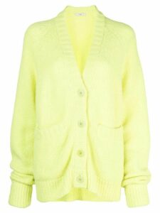 Tibi knitted cardigan - Yellow
